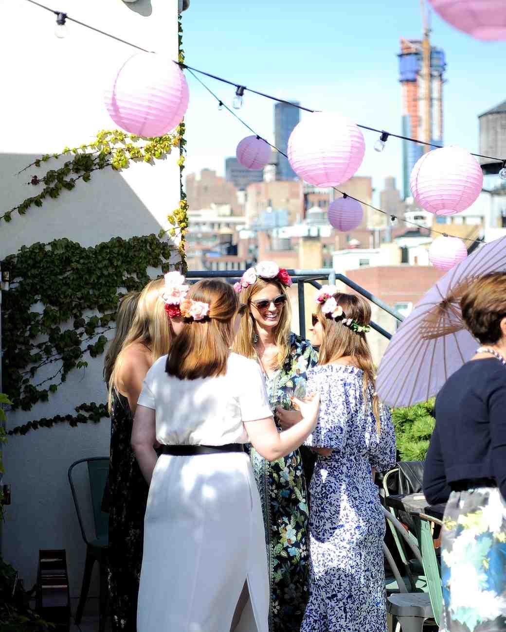 Annie Atkinson's Rooftop Bridal Shower Location