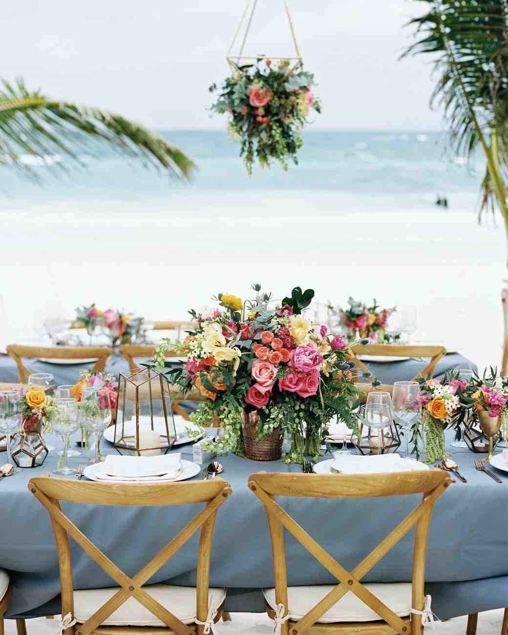 Beach Wedding Reception Ideas: 51 Beautiful Ideas From Beach Weddings