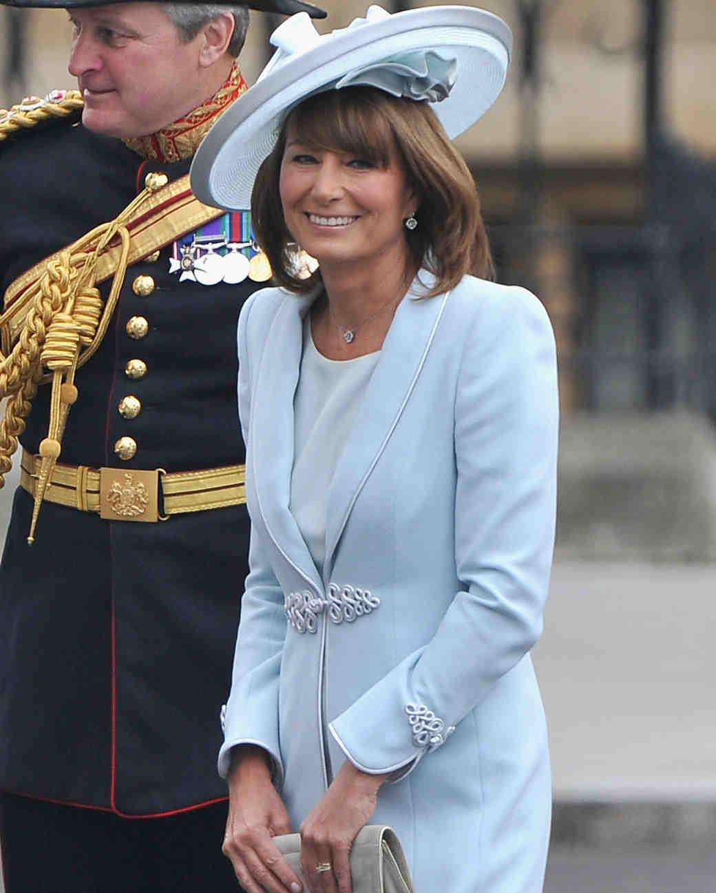 Celebrity MOB look - Carole Middleton