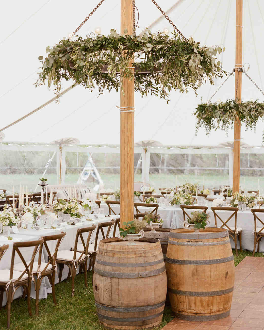 Colby John wedding tent