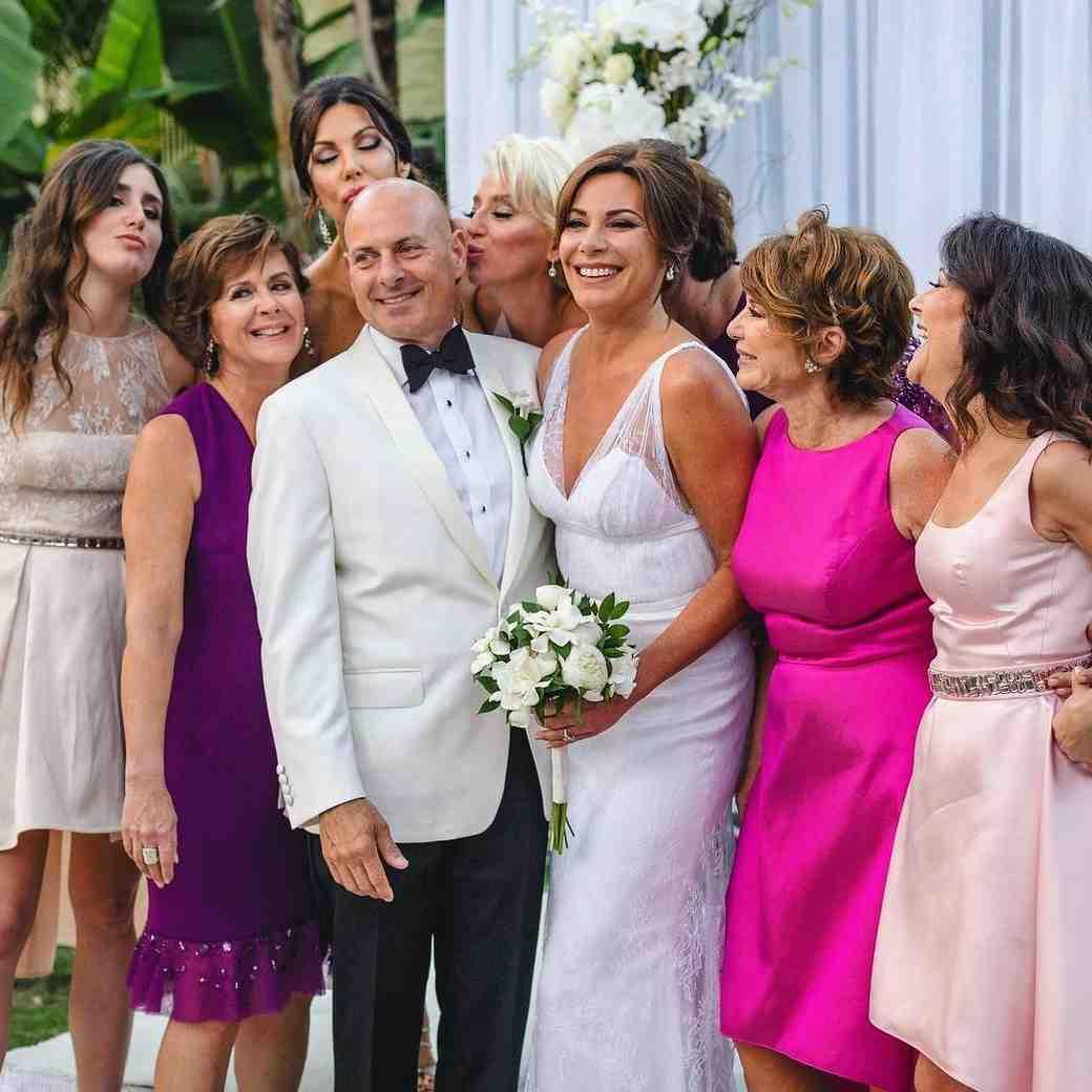Luann D'Agostino's Palm Beach RHONY wedding