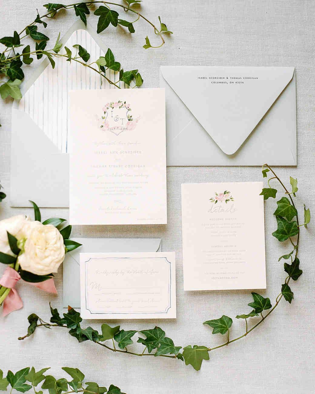 Wedding Invitations Ideas Pinterest: A Summery, Lakeside Wedding In Michigan