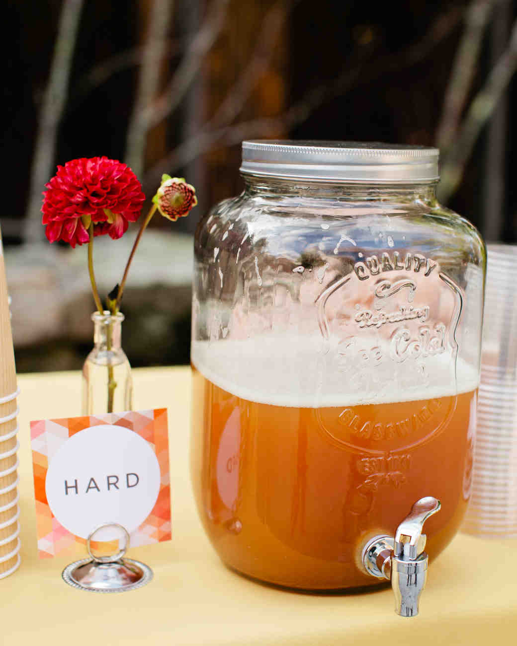 Hard Cider Dispenser