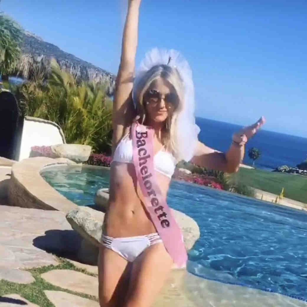 Julianne Hough bachelorette weekend