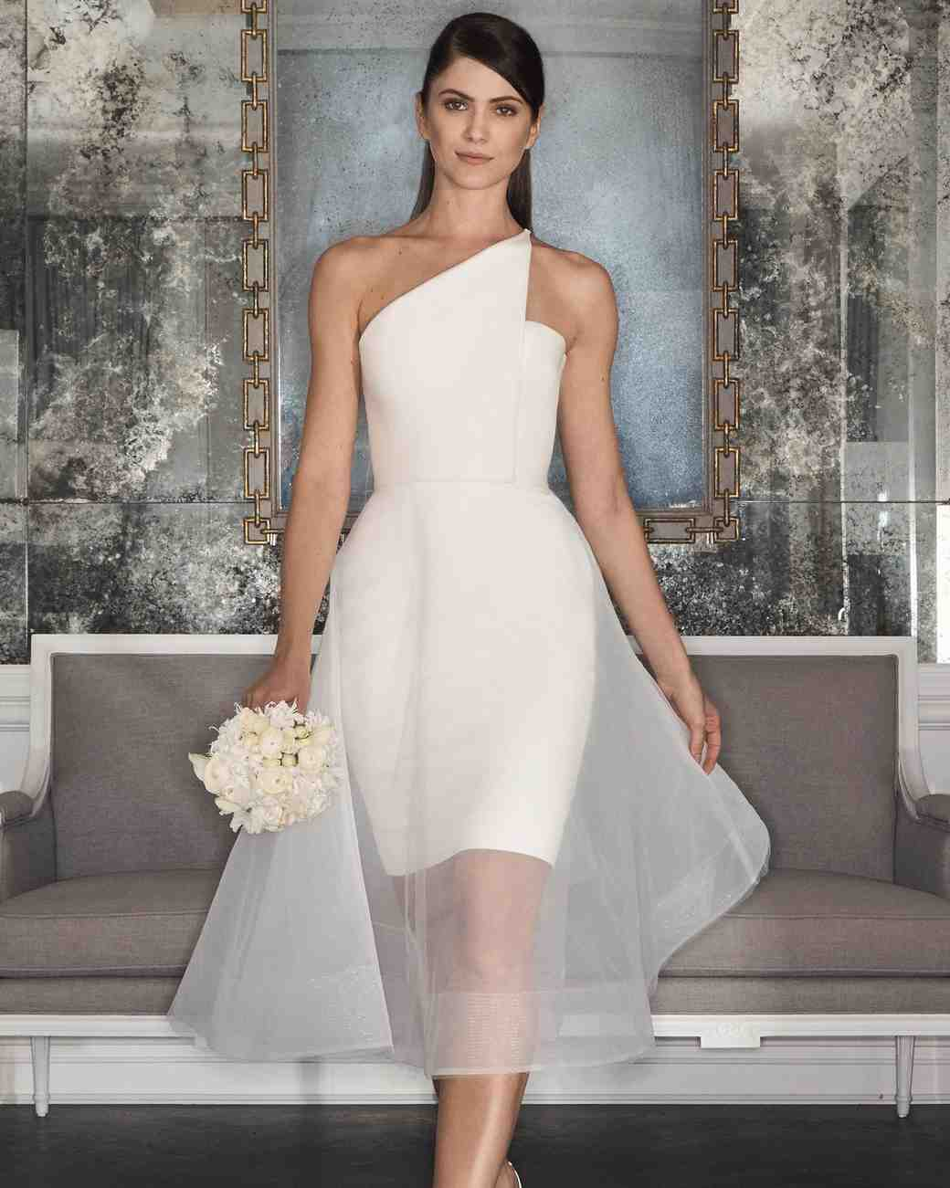 73 Chic Short Wedding Dresses