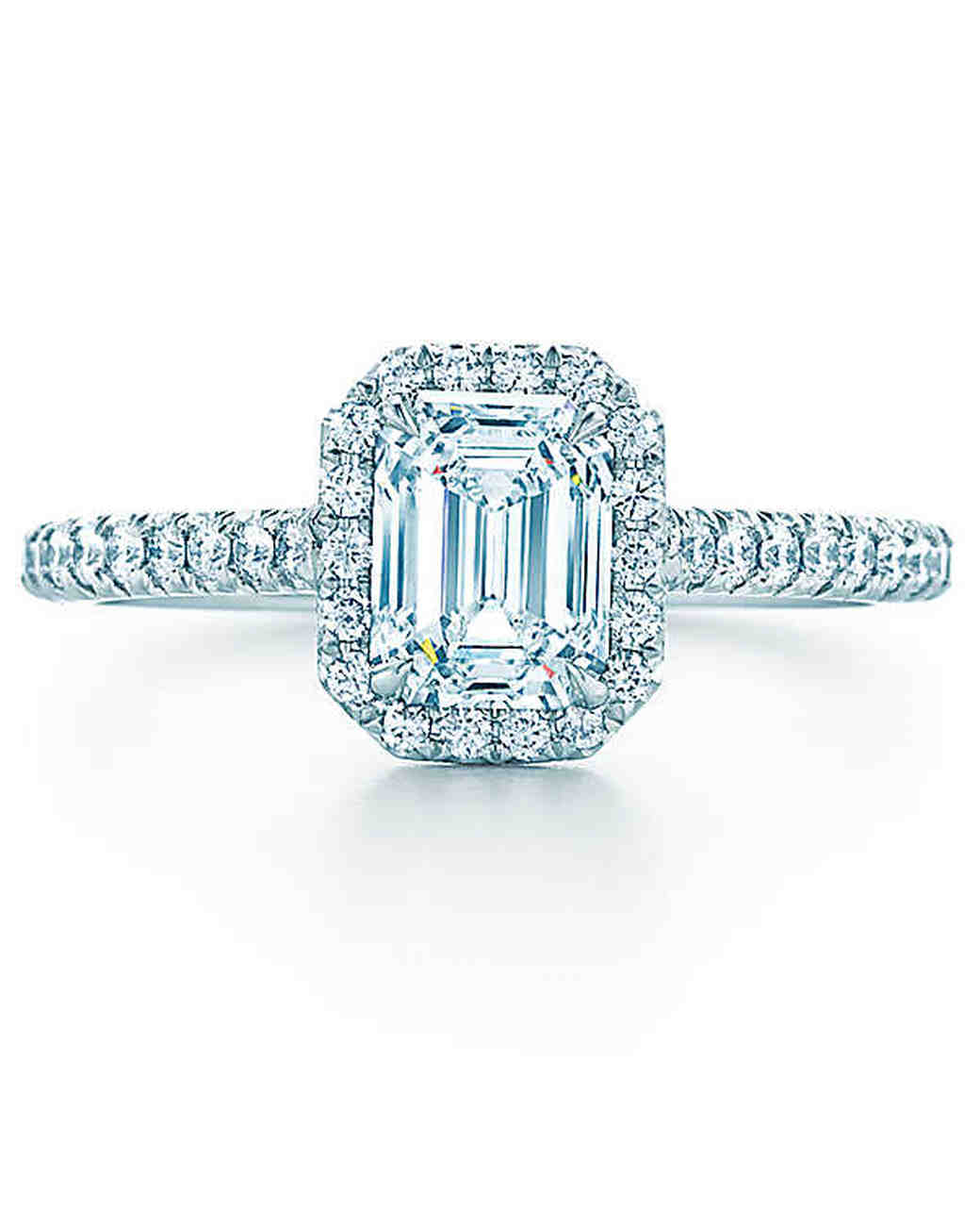 Tiffany & Co. Emerald-Cut Engagement Ring