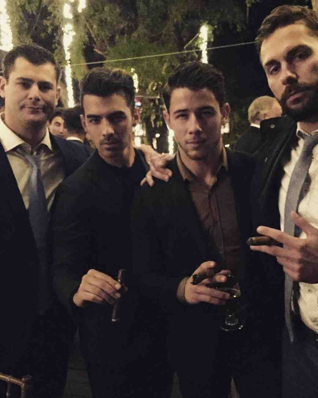 Nick and Joe Jonas