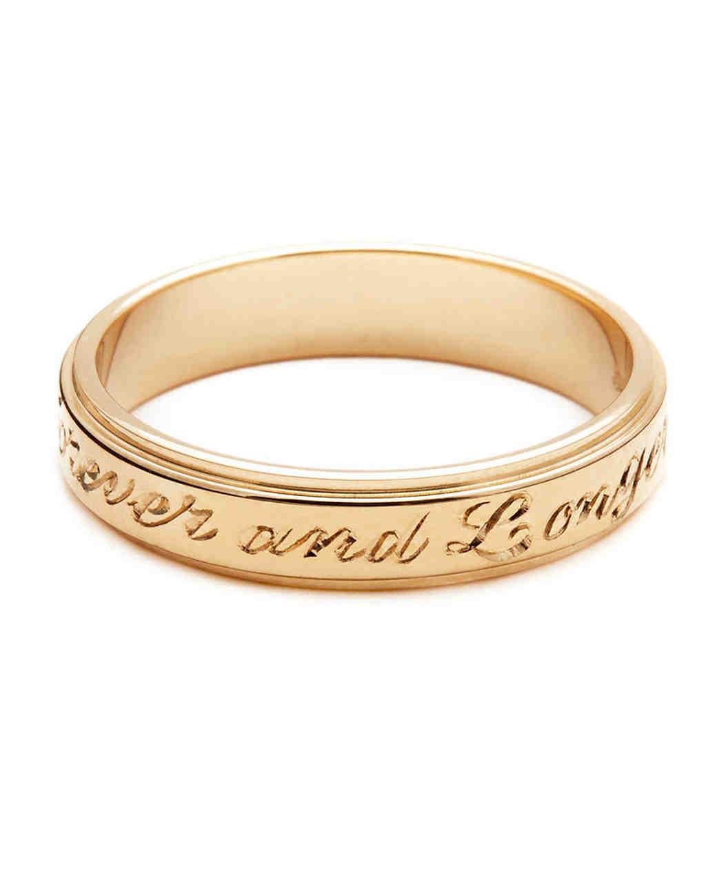 gold wedding bands women weve taken shine to david yurman wedding rings Anna Sheffield