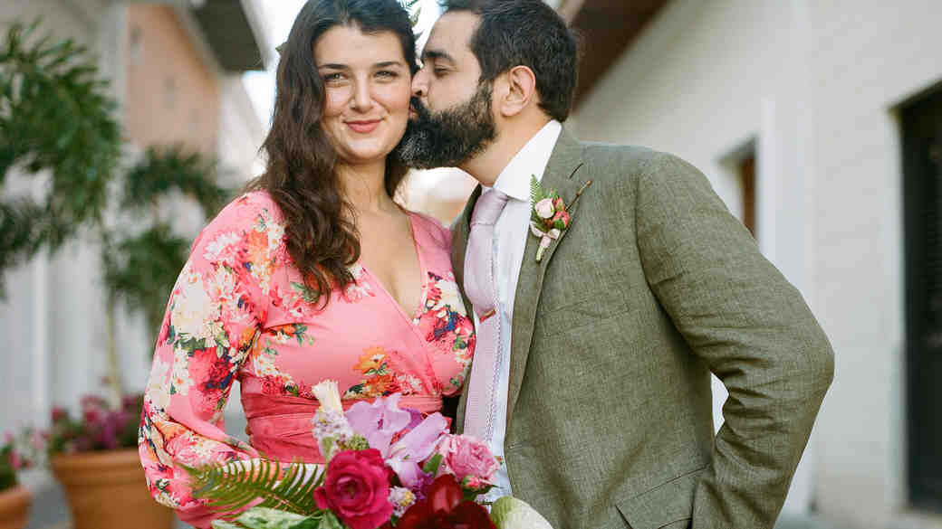 Abby and José's Colorful Destination Wedding in Old San Juan