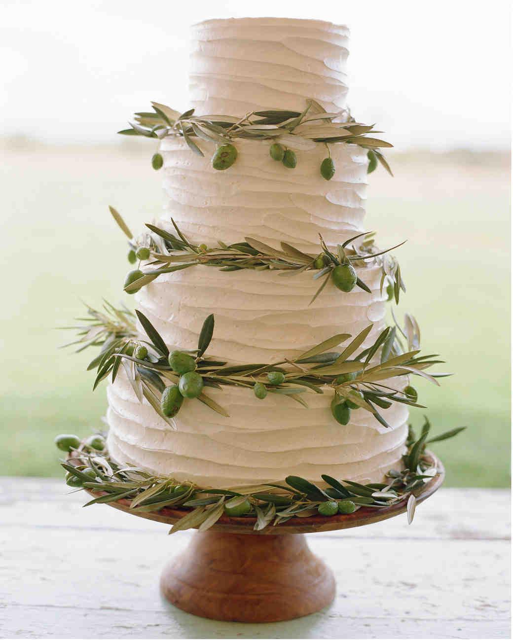 Huckleberry Wedding Cake