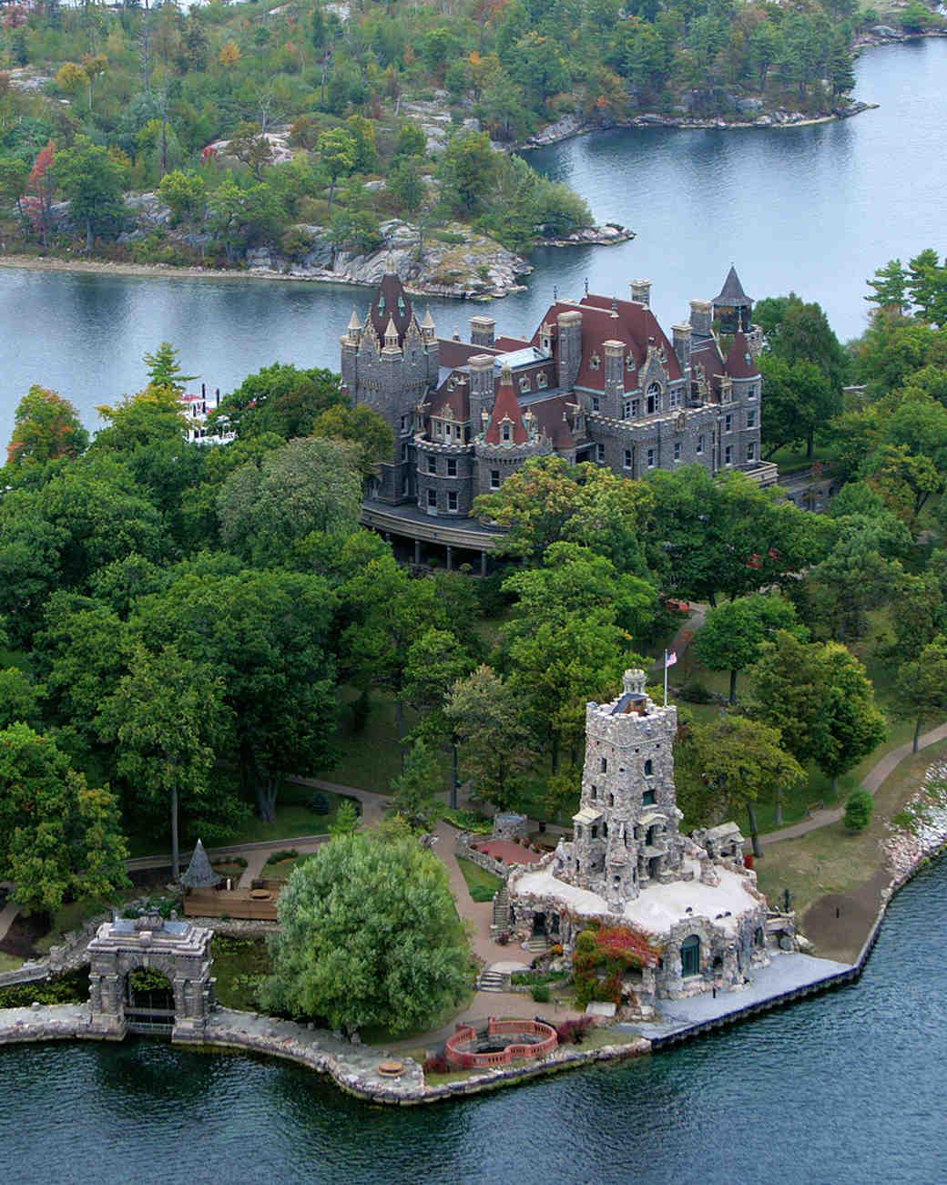 18 FairyTale Castle Wedding Venues in America Martha Stewart
