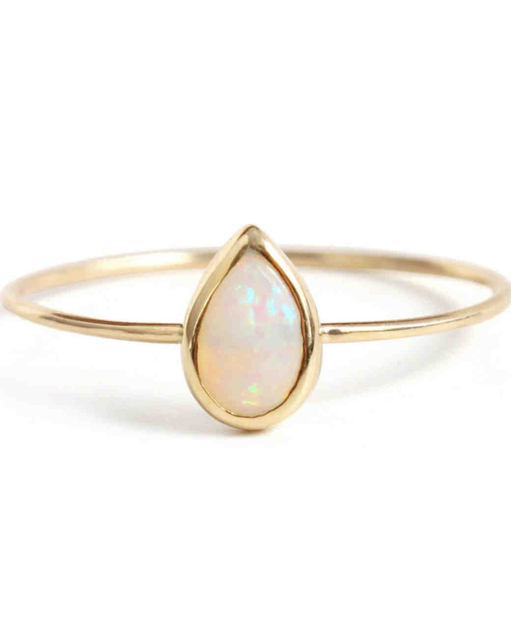 Catbird Jewelry Opal Engagement Ring