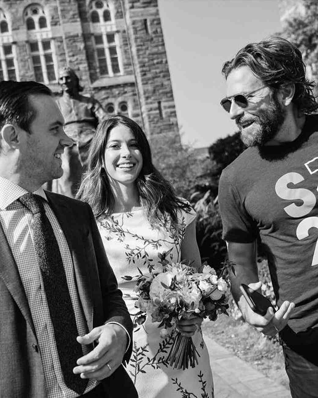 Bradley Cooper crashes wedding