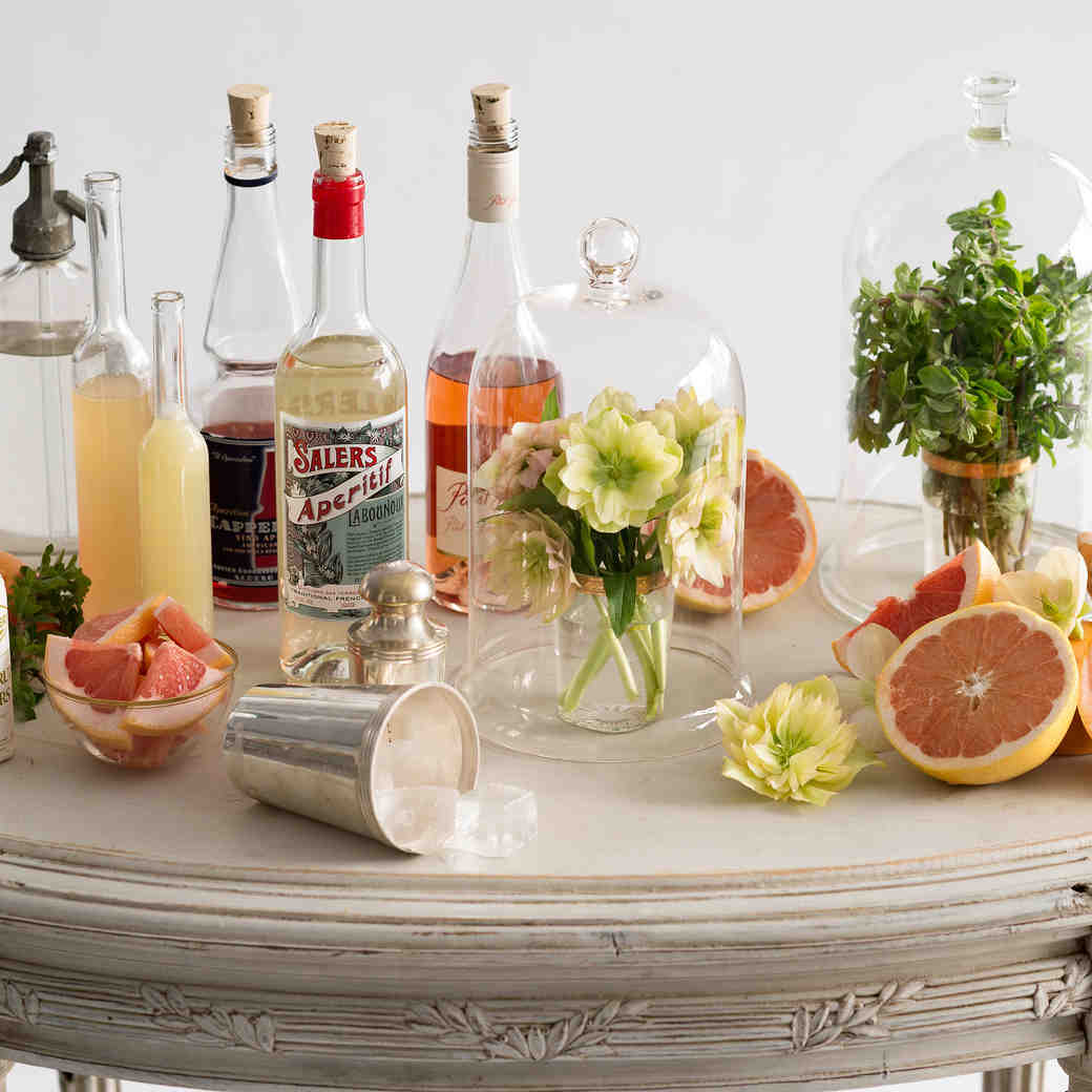 Spring and Summer Signature Cocktail Shoot