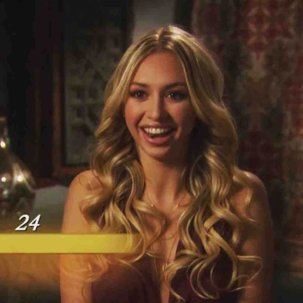 Corinne Olympios from The Bachelor Season 21