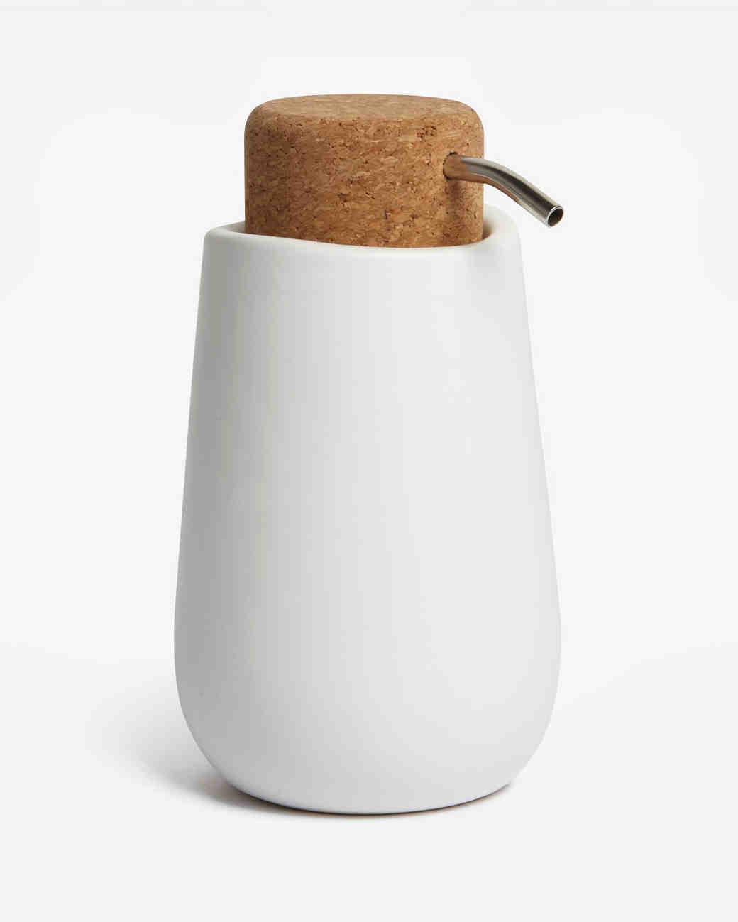 cork soap dispenser