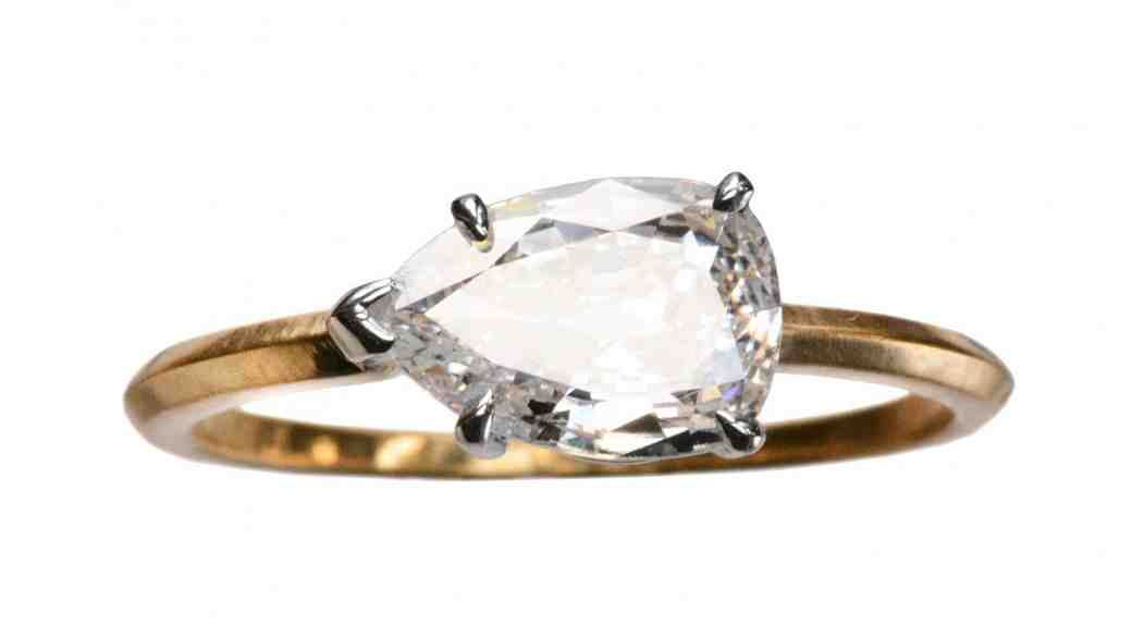 12 East-West Engagement Rings