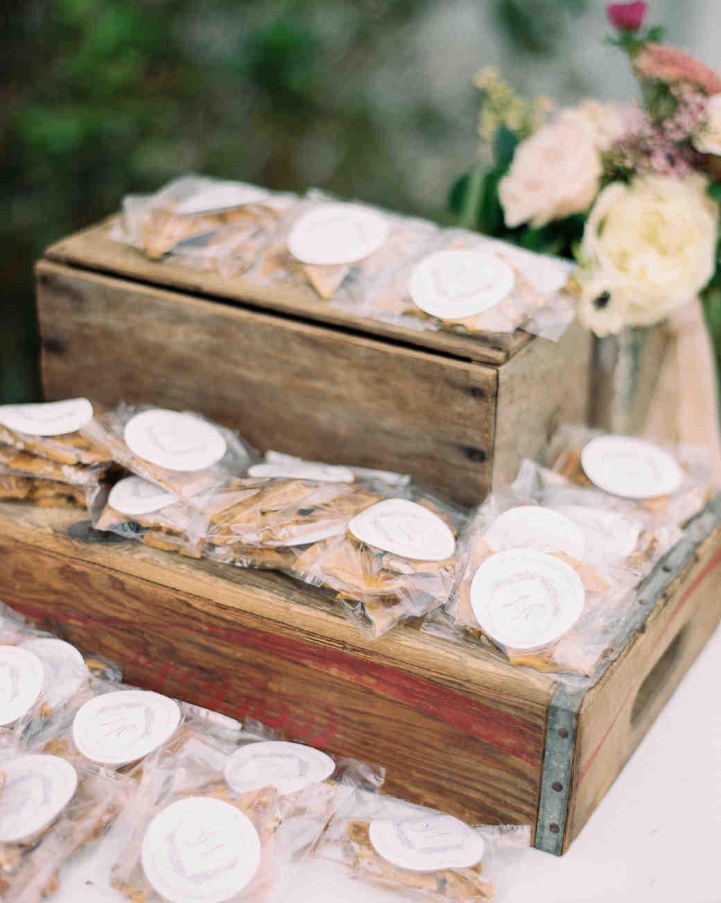 brittle wedding favors
