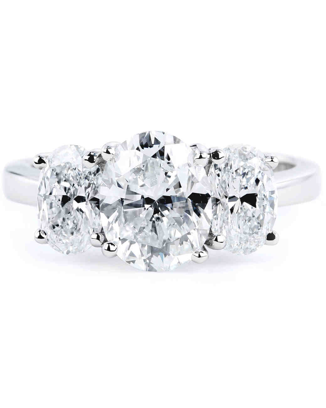Forevermark Oval Engagement Ring