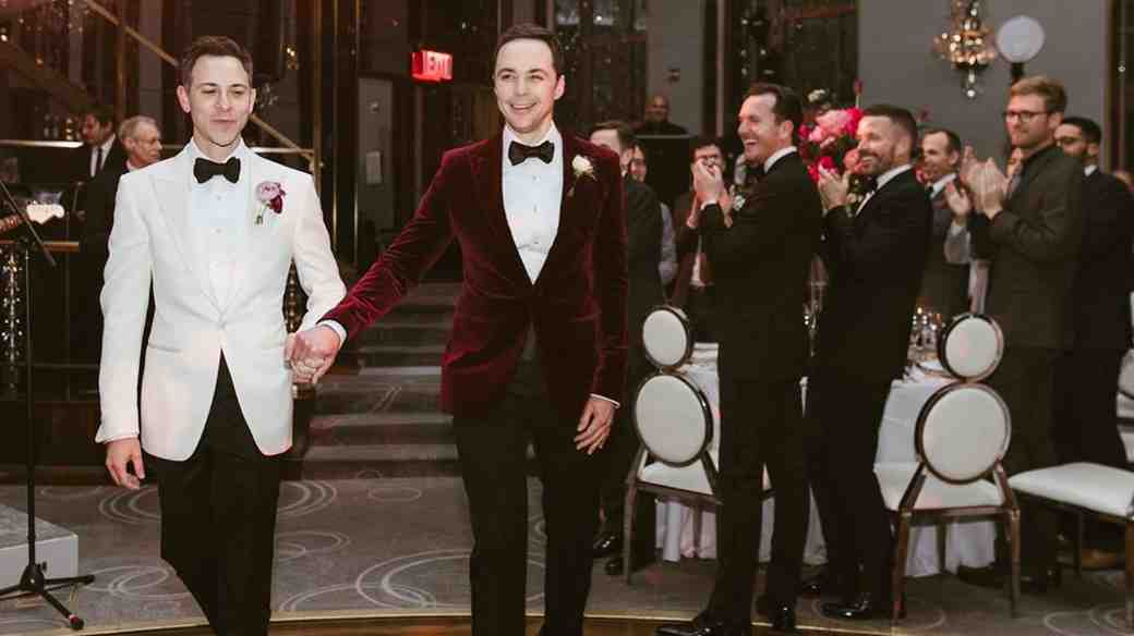 Jim Parsons and Todd Spiewak's First Dance