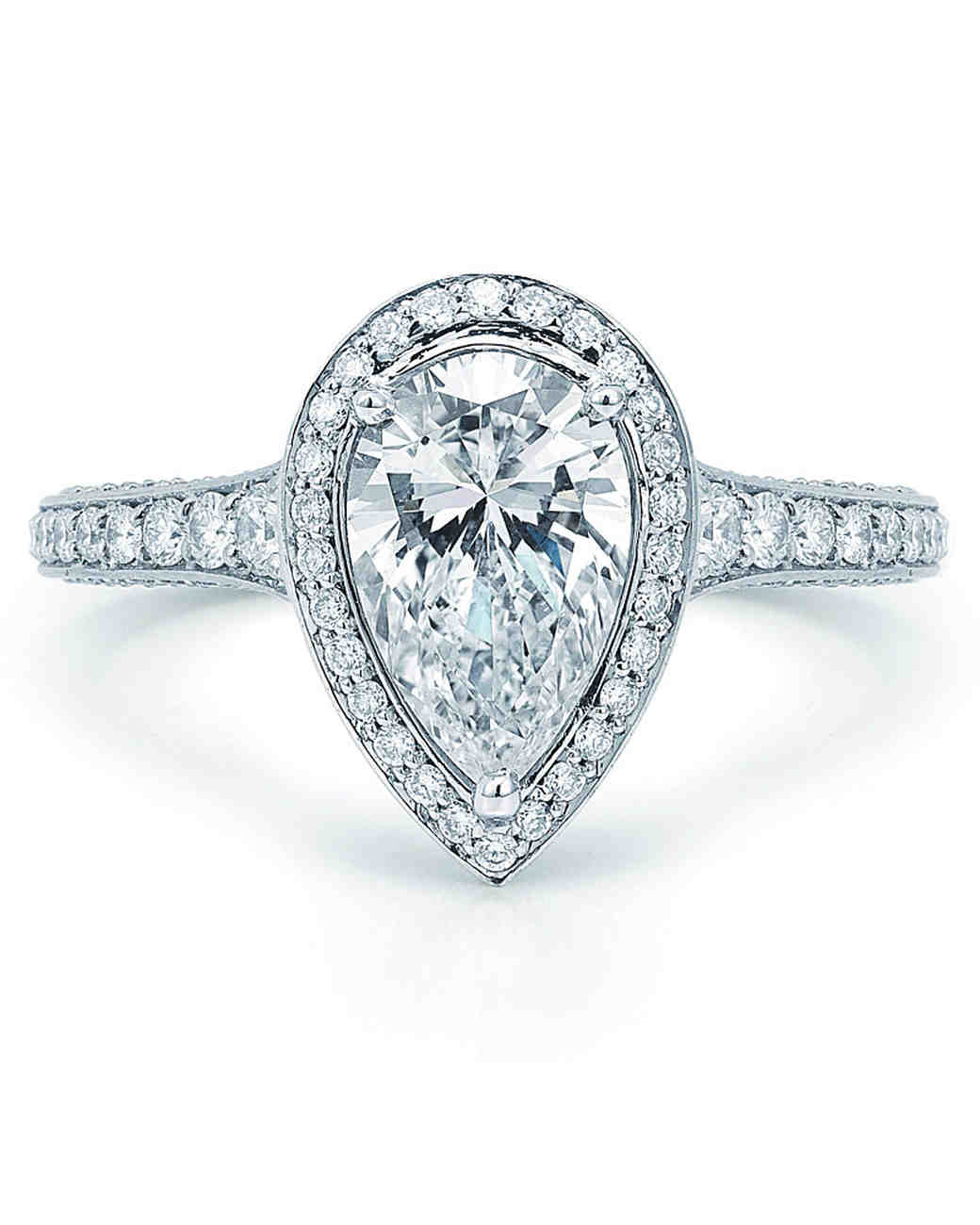 Kwiat Pear-Cut Engagement Ring