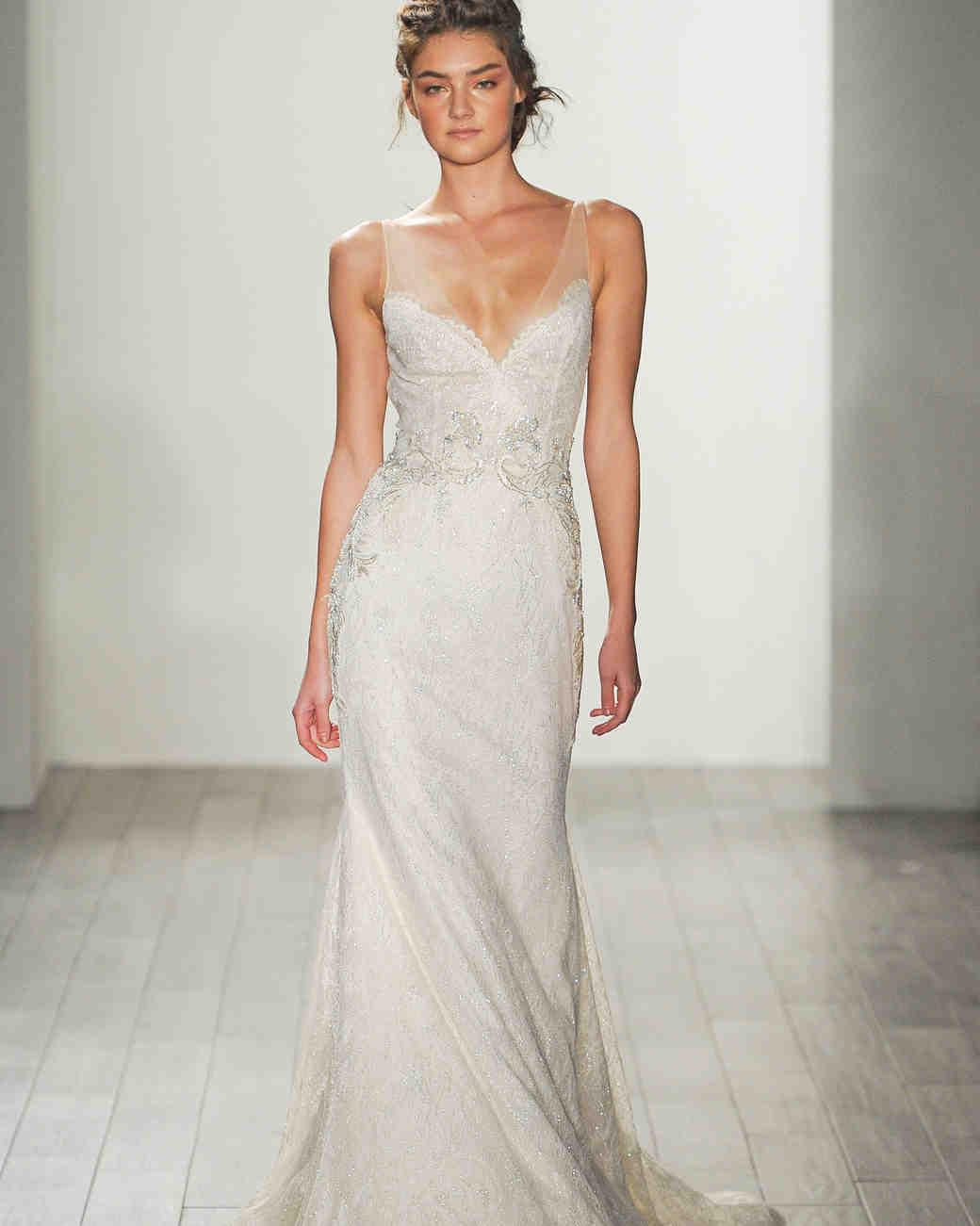 Lazaro Fall 2017 Wedding Dress Collection | Martha Stewart Weddings
