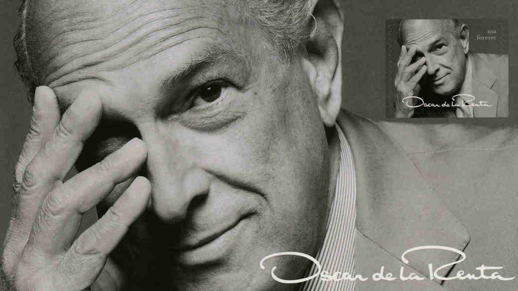 Oscar de la Renta Forever Stamp