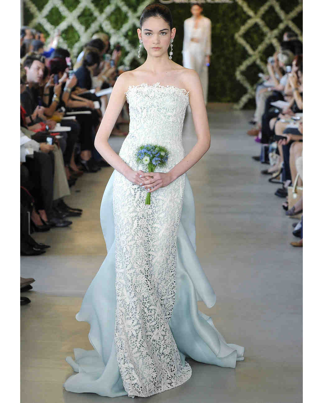Blue Wedding Dresses, Spring 2013 Bridal Fashion Week | Martha ...