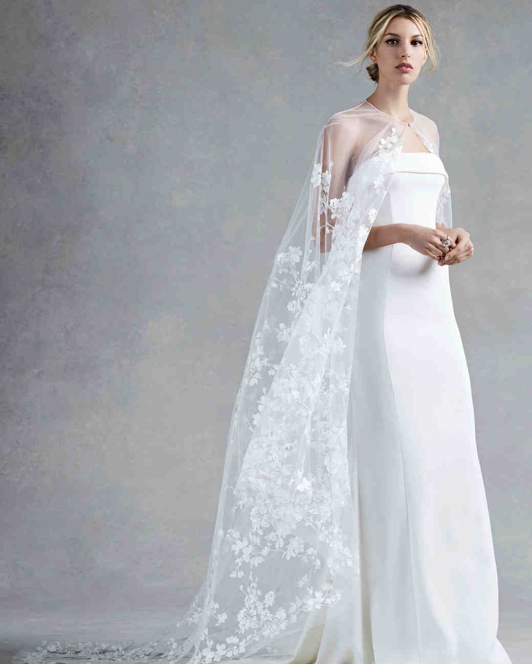 Oscar de la Renta Fall 2017 Wedding Dress Collection