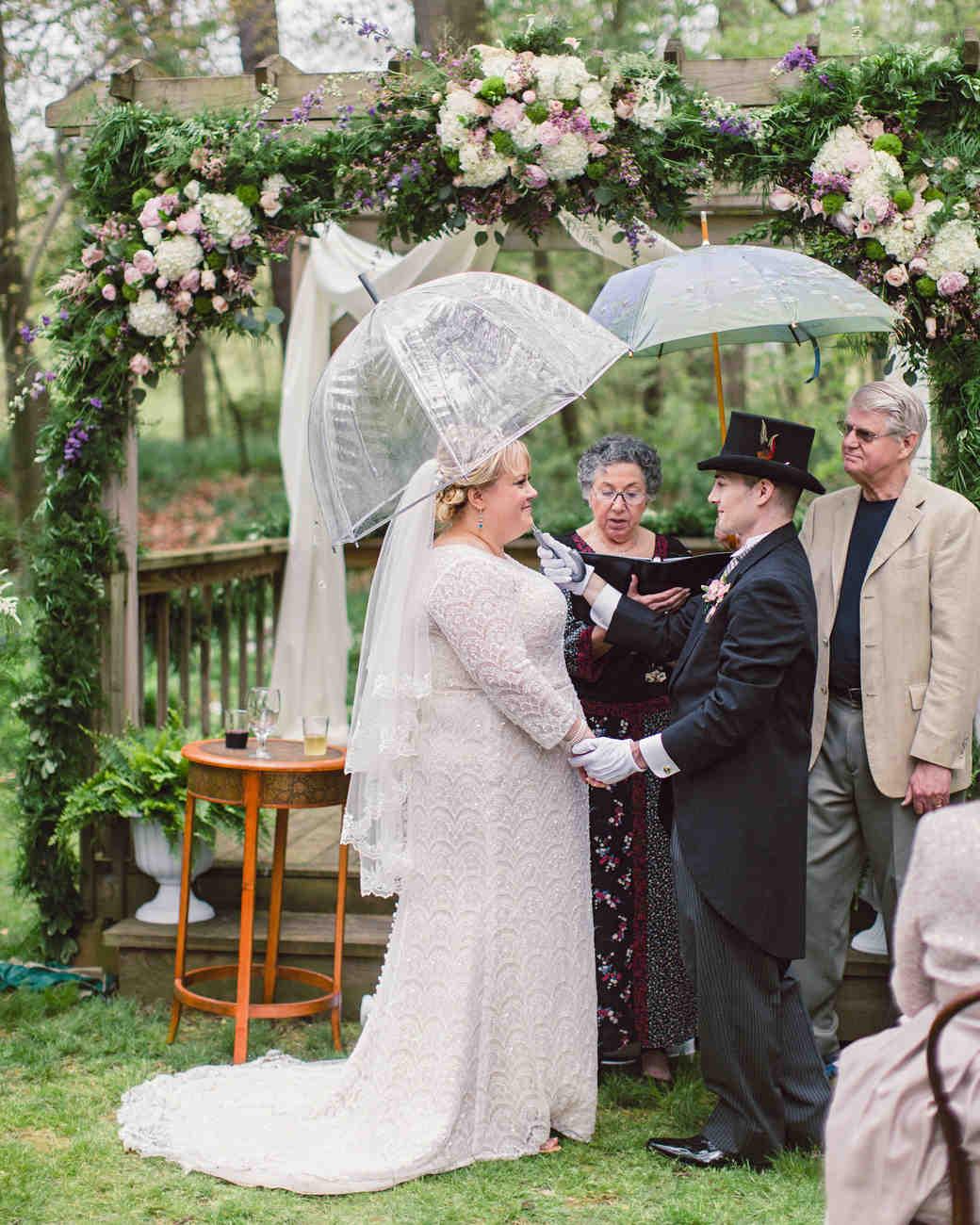 10 Times Rain Made A Wedding Even More Special