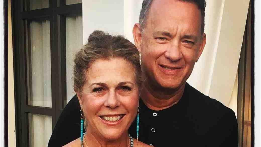 Tom Hanks and Rita Wilson Anniversary Photo