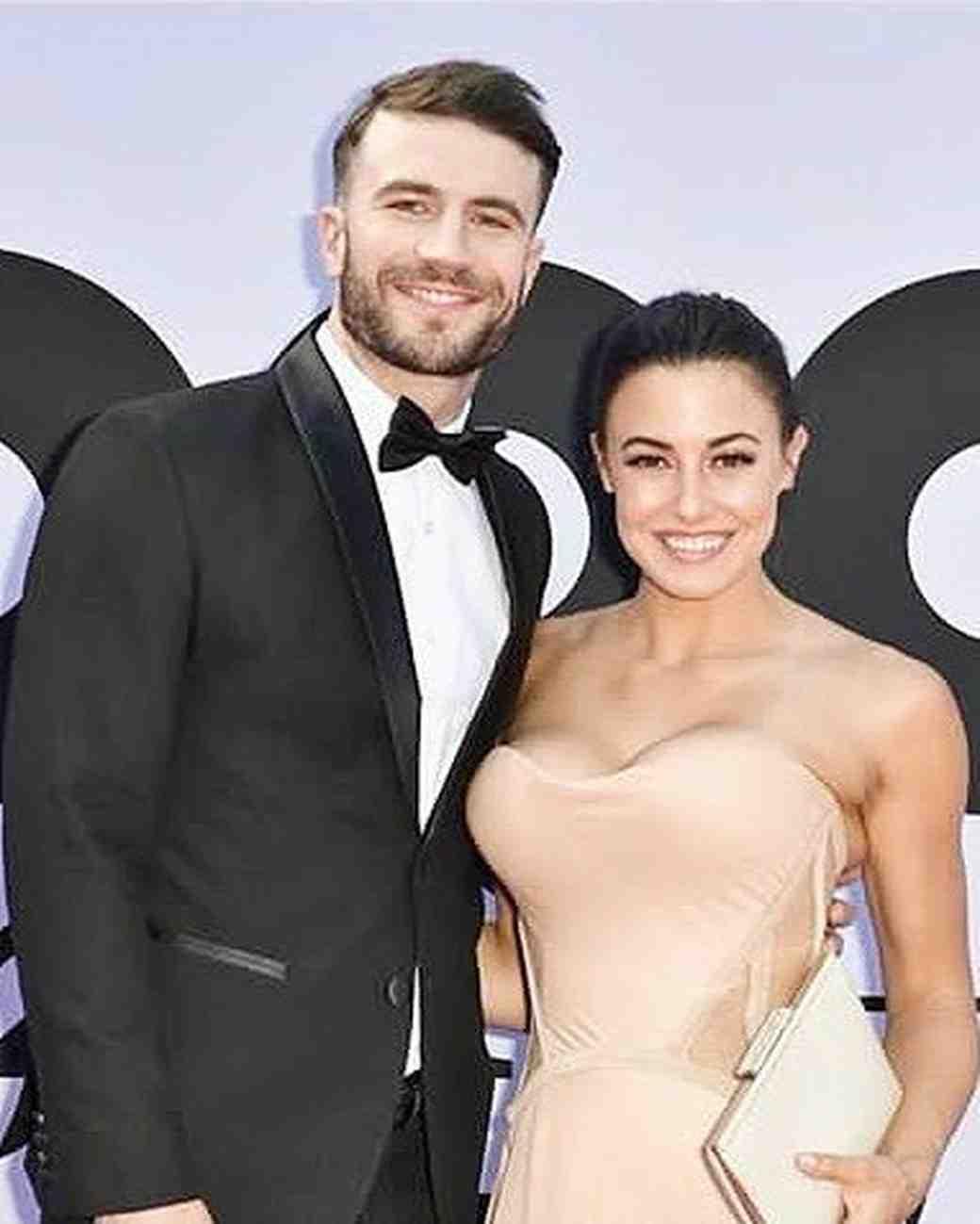 Sam Hunt and wife Hannah Lee Fowler at Billboard Music Awards