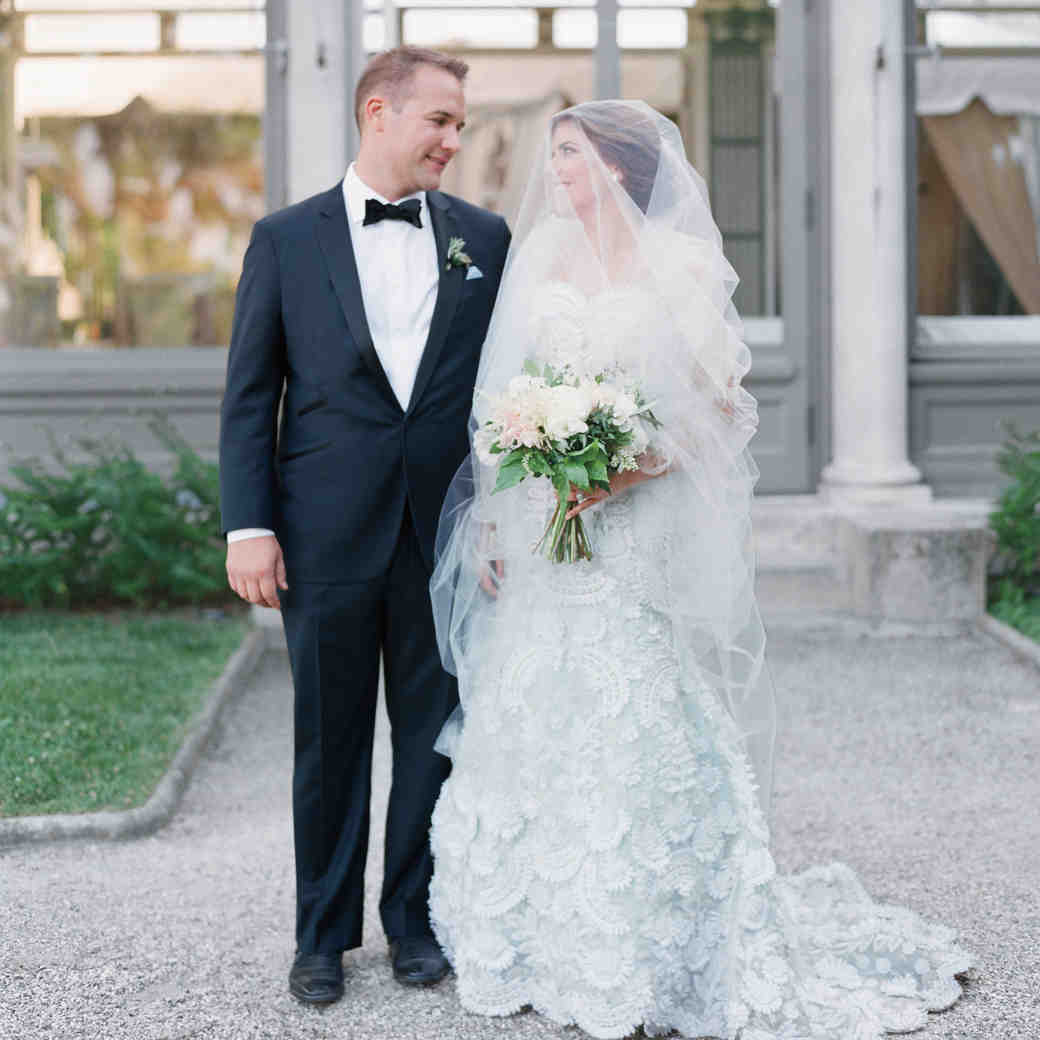 The Bride Wore Blue at This Connecticut Wedding