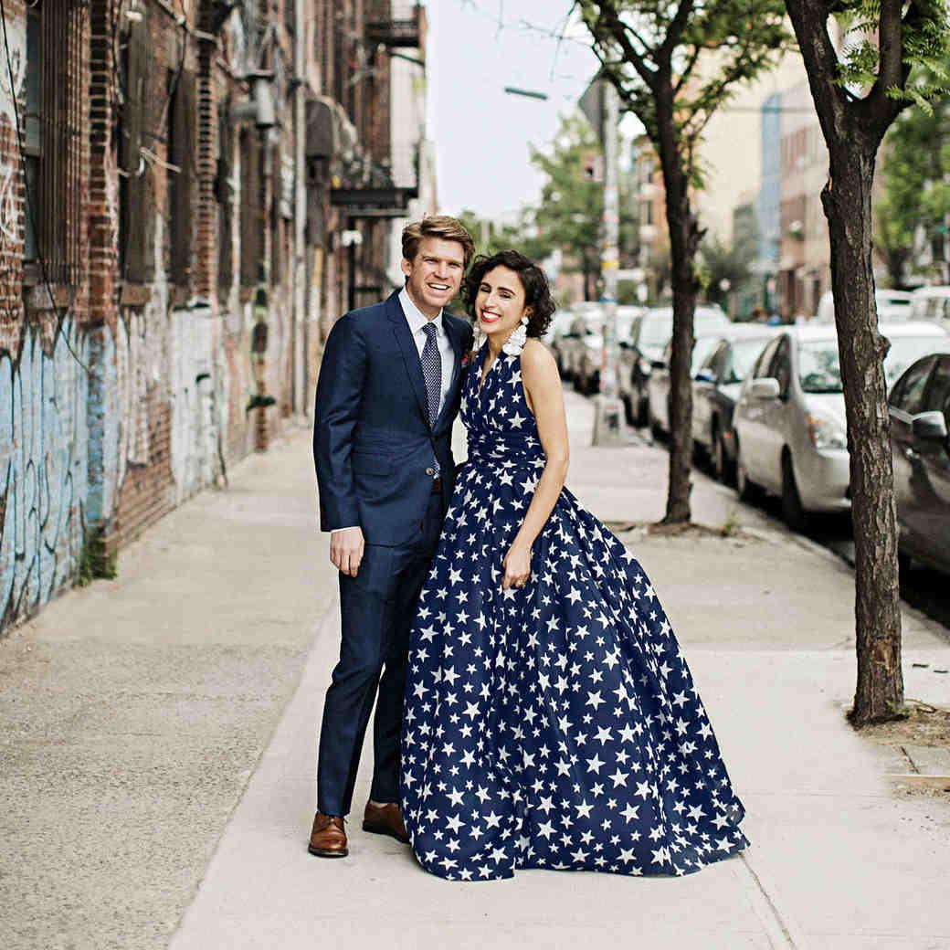 ali mark wedding new york couple