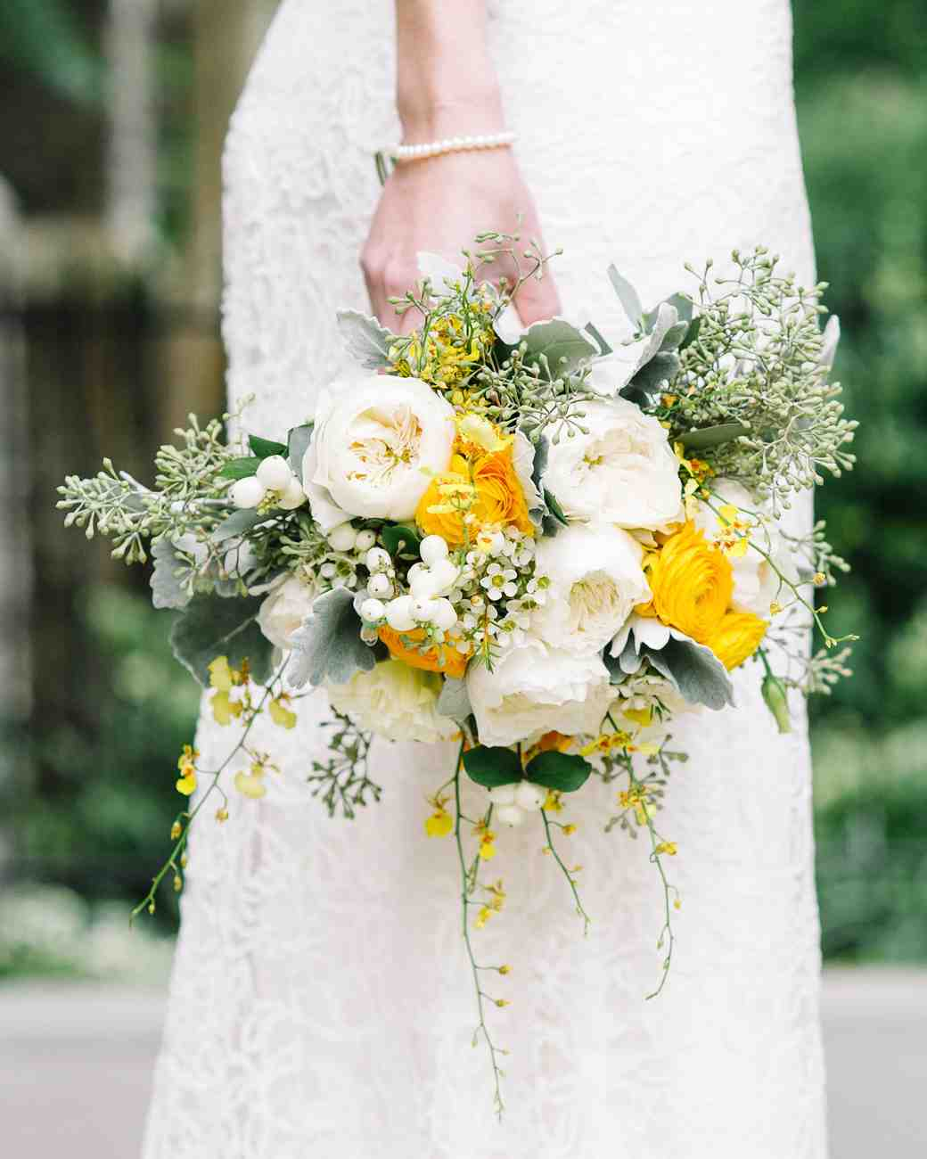 Wedding Flowers Yellow Roses: 31 Colorful Wedding Bouquets