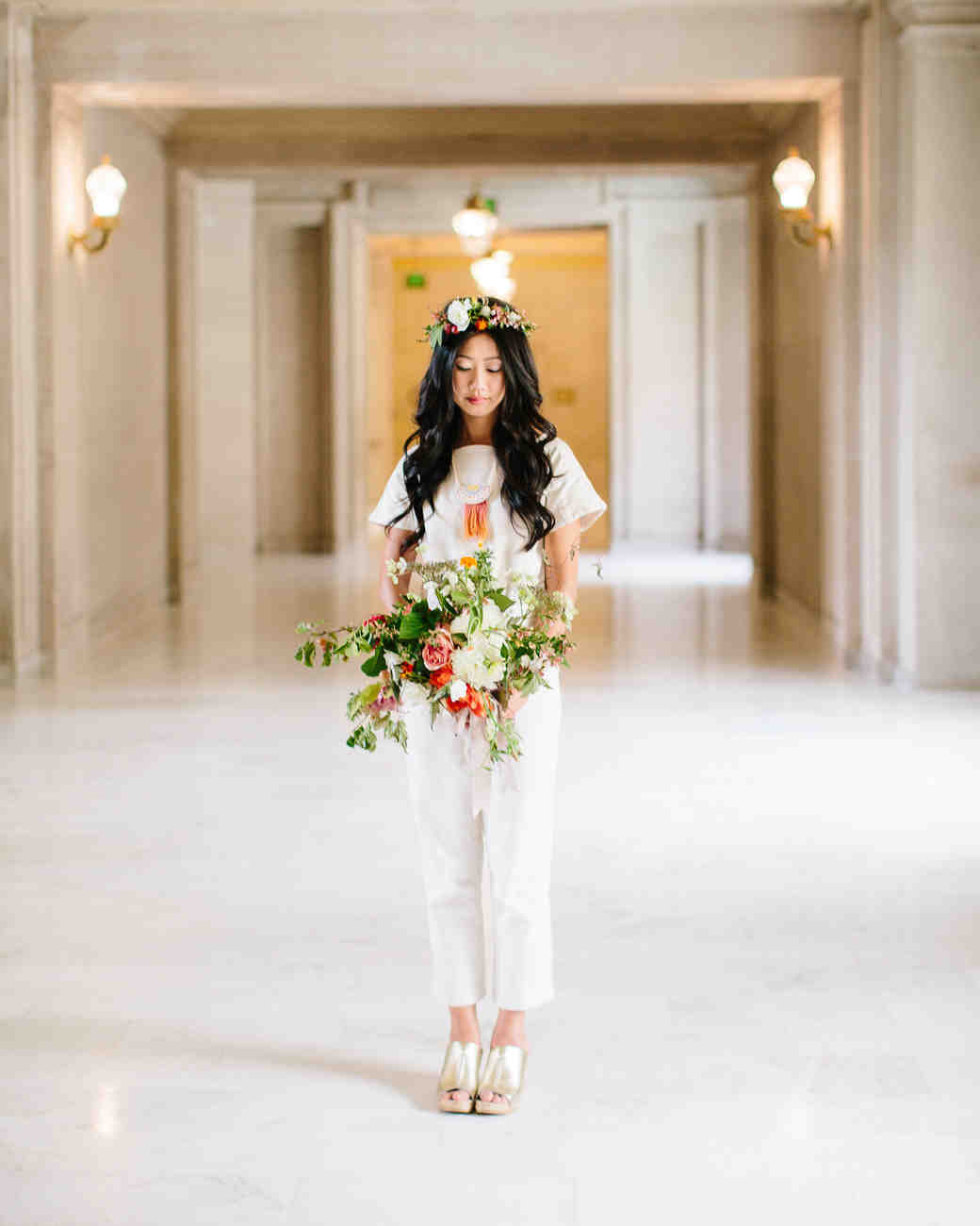 Real Brides Who Nailed The Bridal Jumpsuit Look