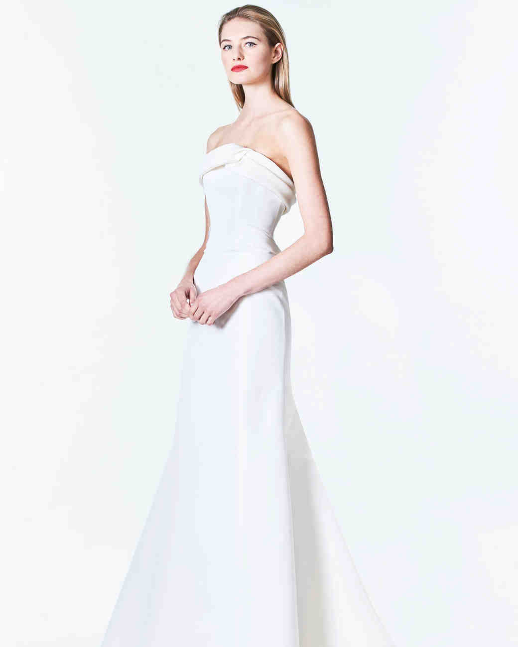 simple wedding dresses that are just plain chic martha stewart weddings