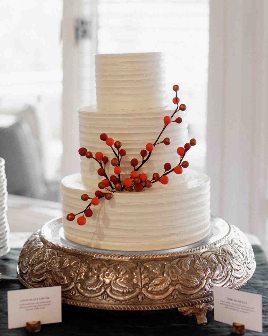 Two-Flavor Wedding Cake