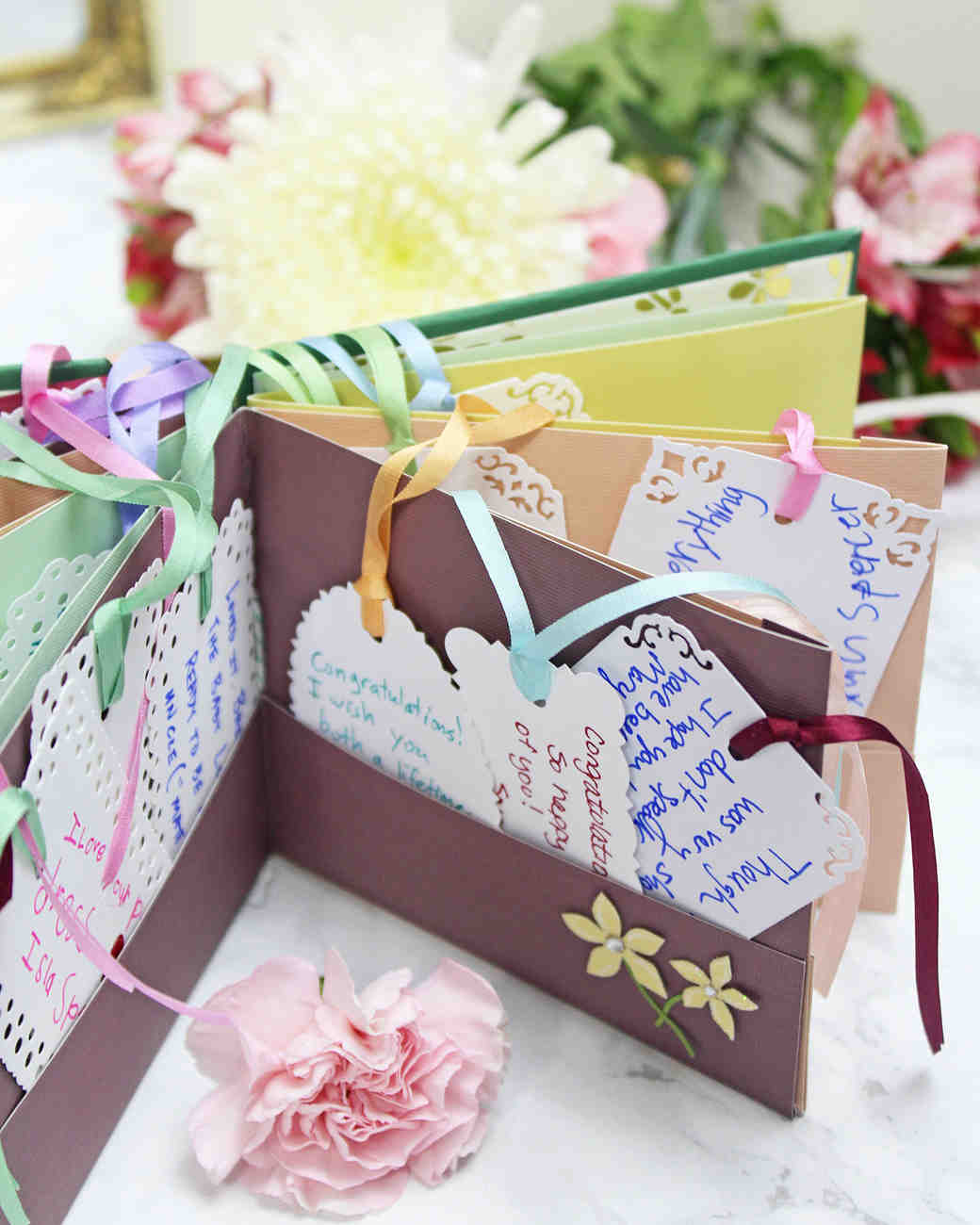 Make Your Own Botanical-Themed Wedding Guest Book