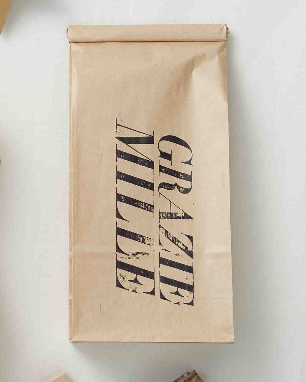 Stamped Coffee Bag