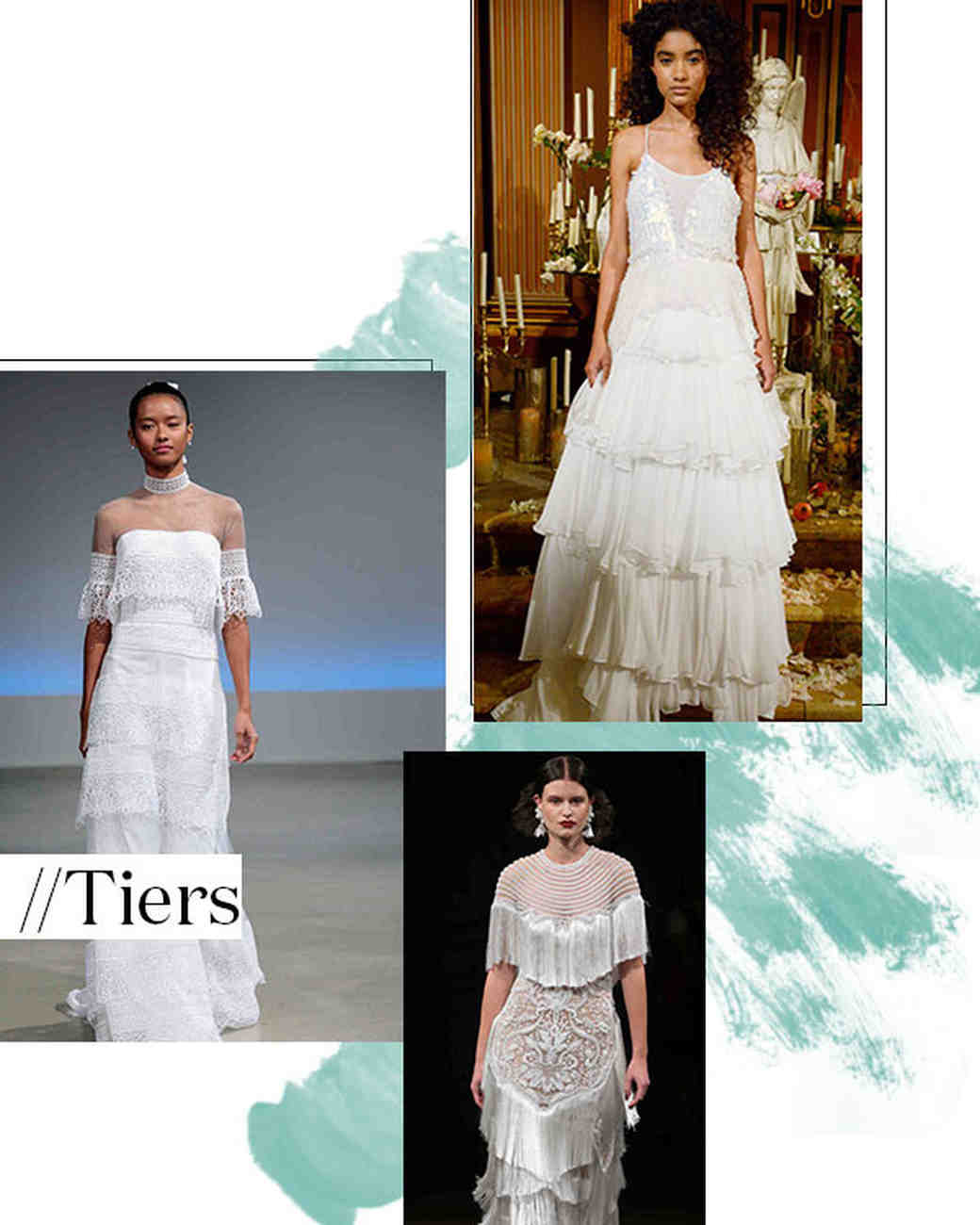 Fall 2017 Wedding Dress Trend: Tiers