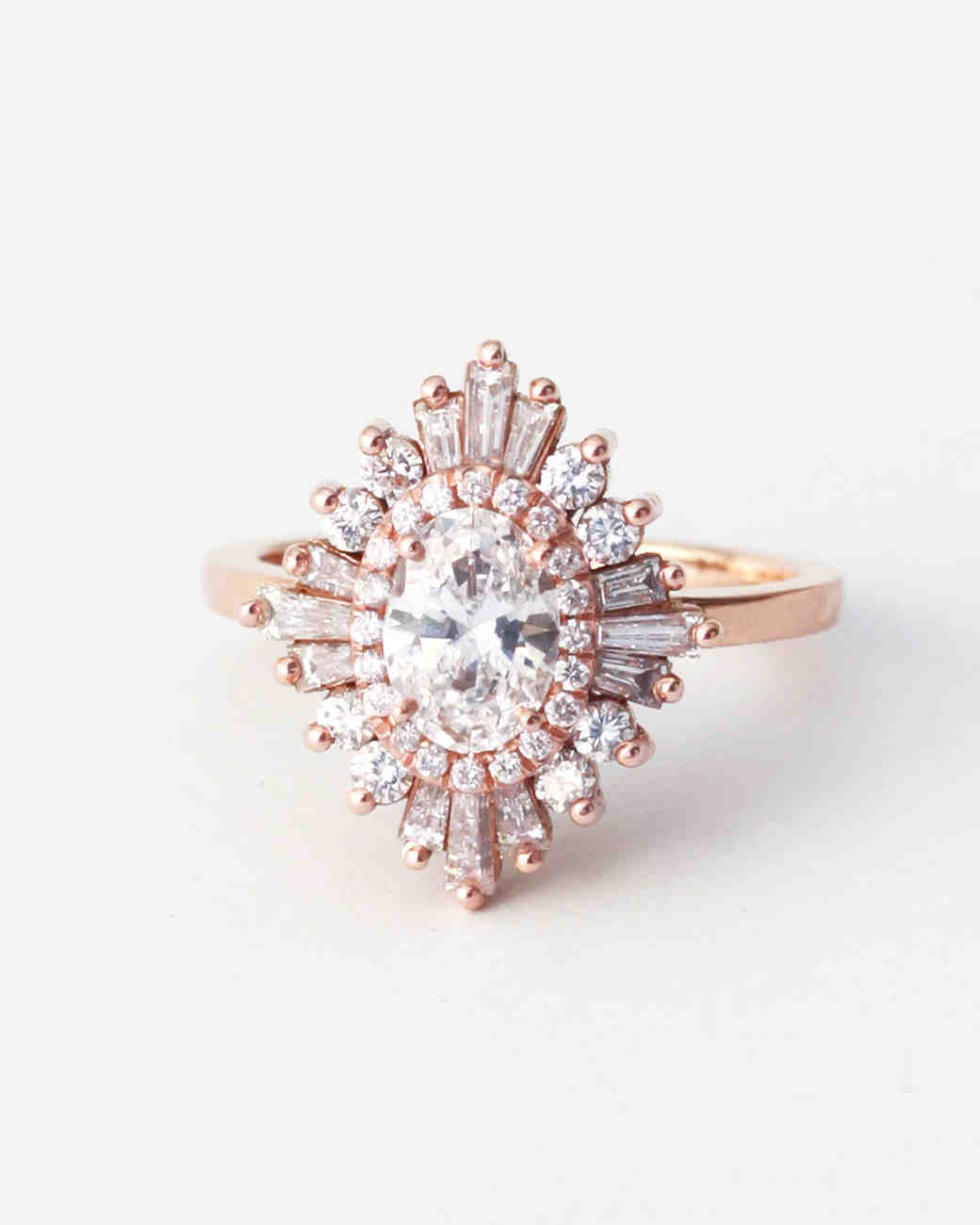 Heidi Gibson Oval Engagement Ring