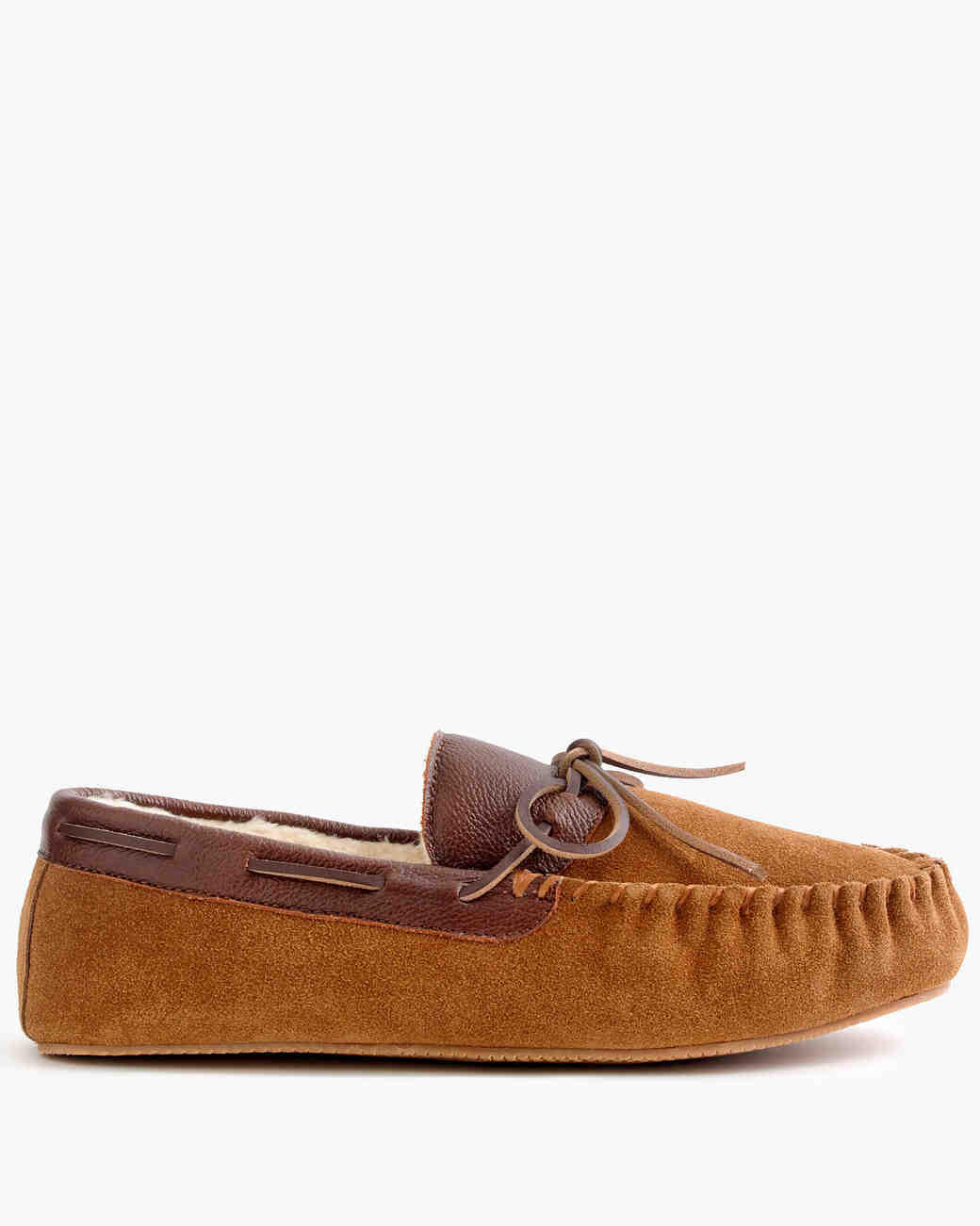 Suede and Leather Slippers
