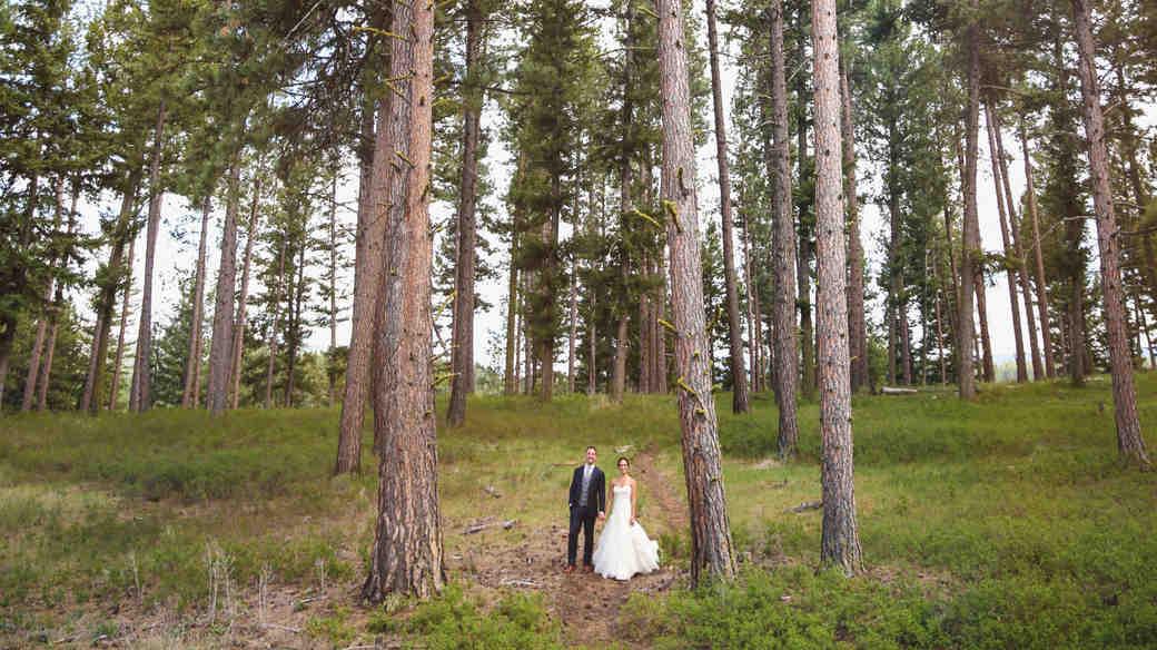 Jamie and Ryan's Glamping-Style Montana Wedding