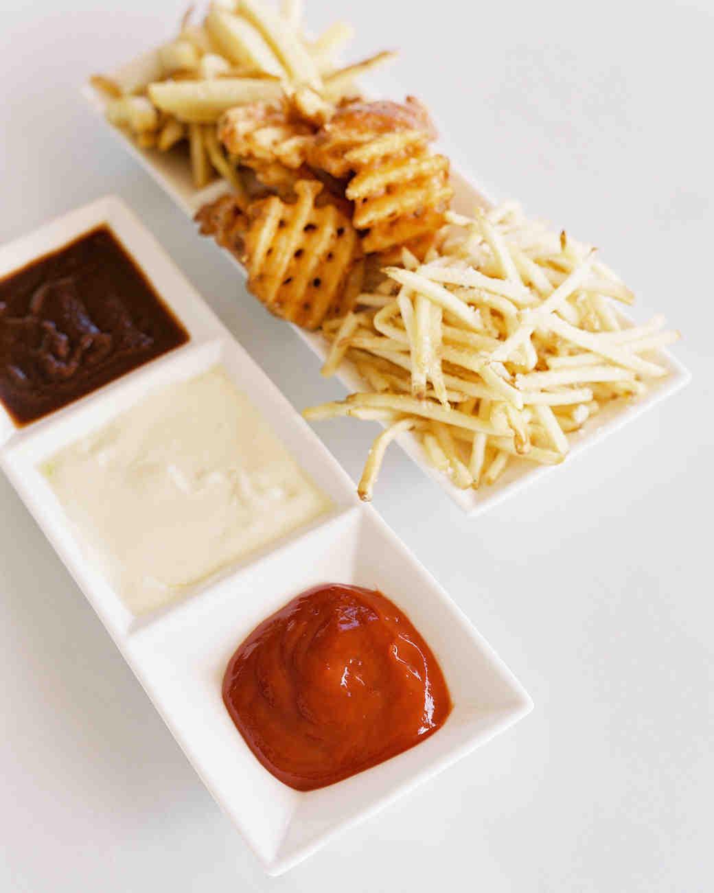 wedding fries