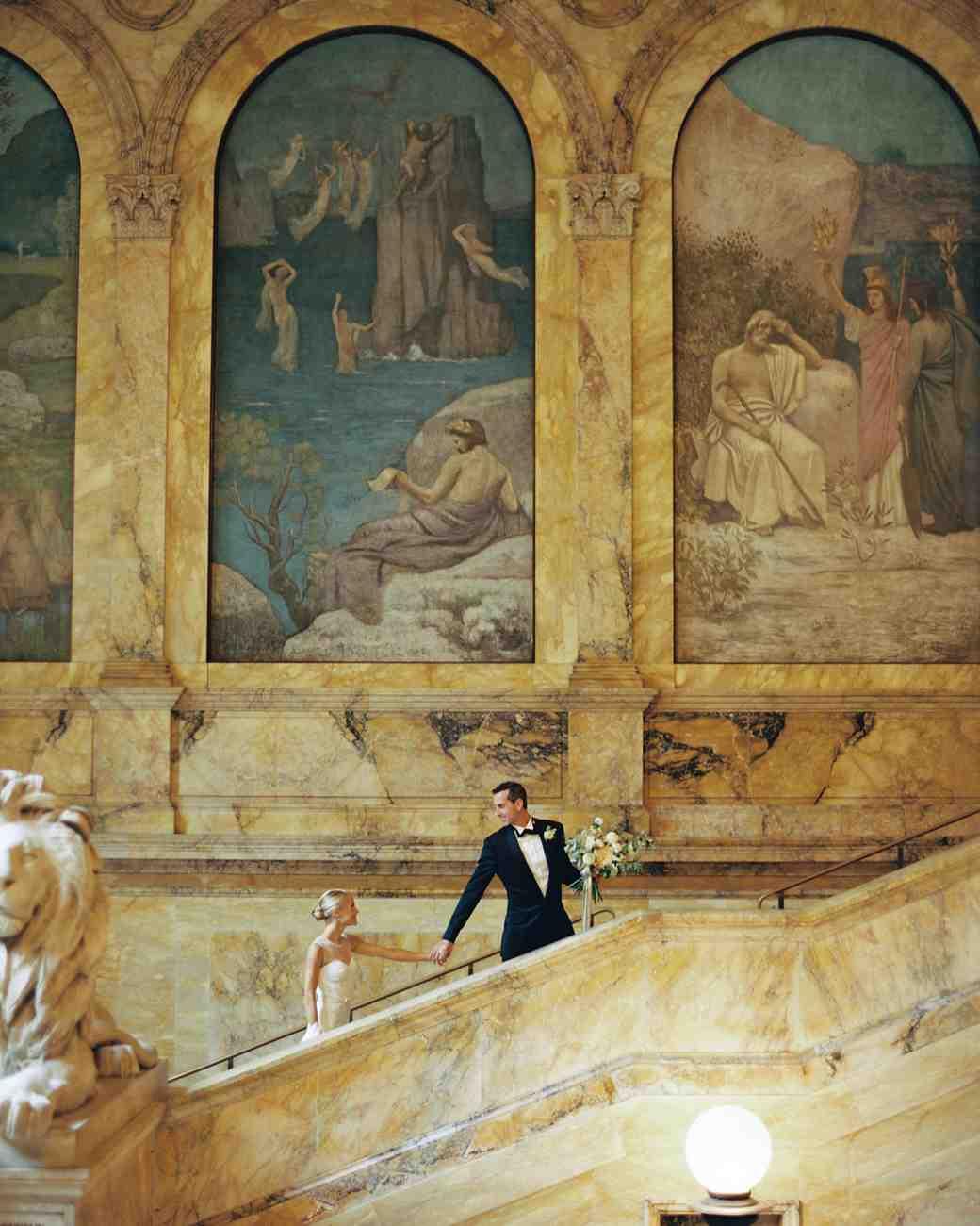 Boston Public Library Wedding: A Classic Boston Public Library Wedding