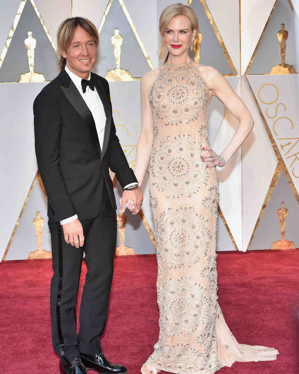 Keith Urban and Nicole Kidman at 2017 Academy Awards