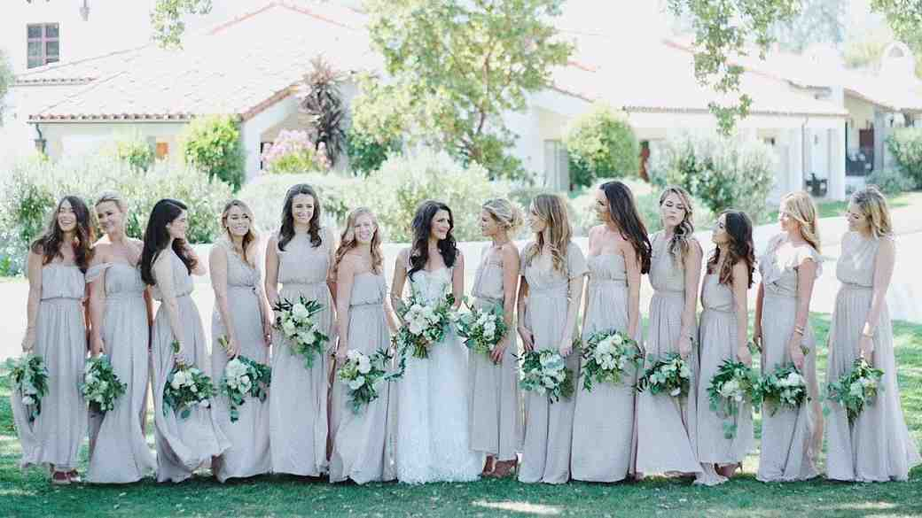 Lauren Conrad Bridesmaid in Paper Crown with Lo Bosworth
