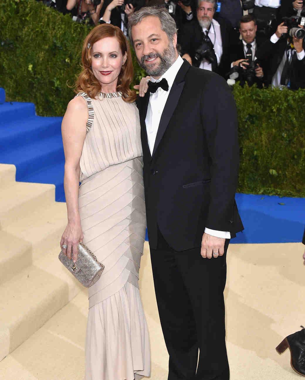Leslie Mann and Judd Apatow Met Gala 2017