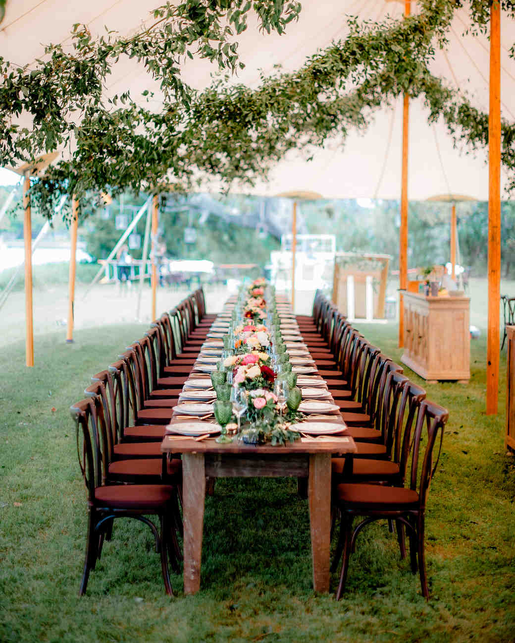 Outdoor Wedding Seating Ideas: 42 Stunning Banquet Tables For Your Reception